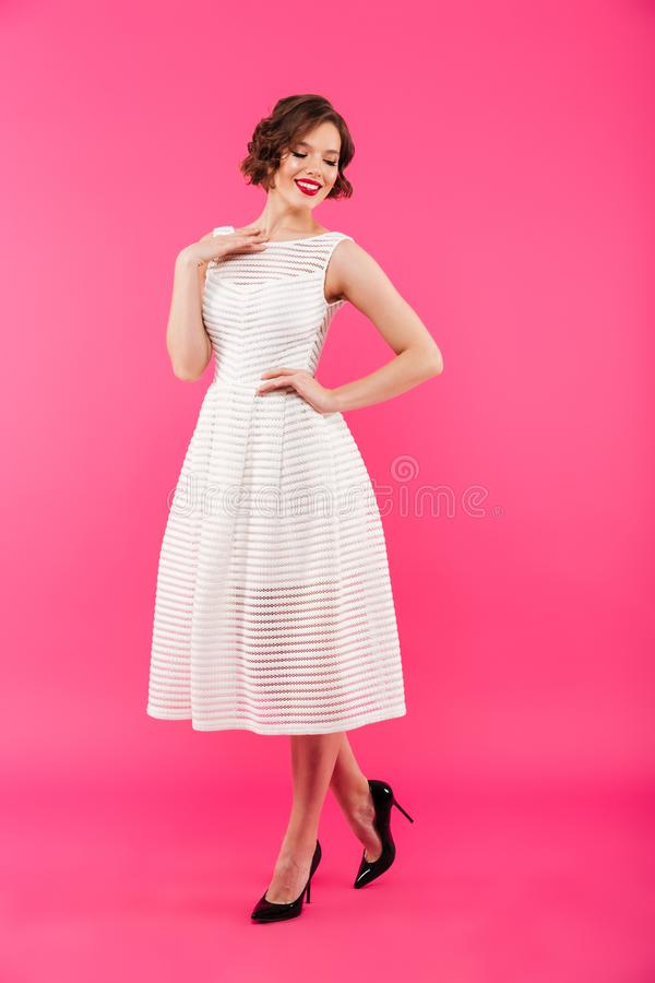 Free Full Length Portrait Of A Pretty Girl Stock Images - 109357534