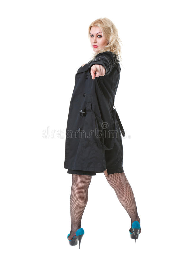 Download Full-length Portrait Of Young Blonde Woman Stock Photo - Image: 22039710
