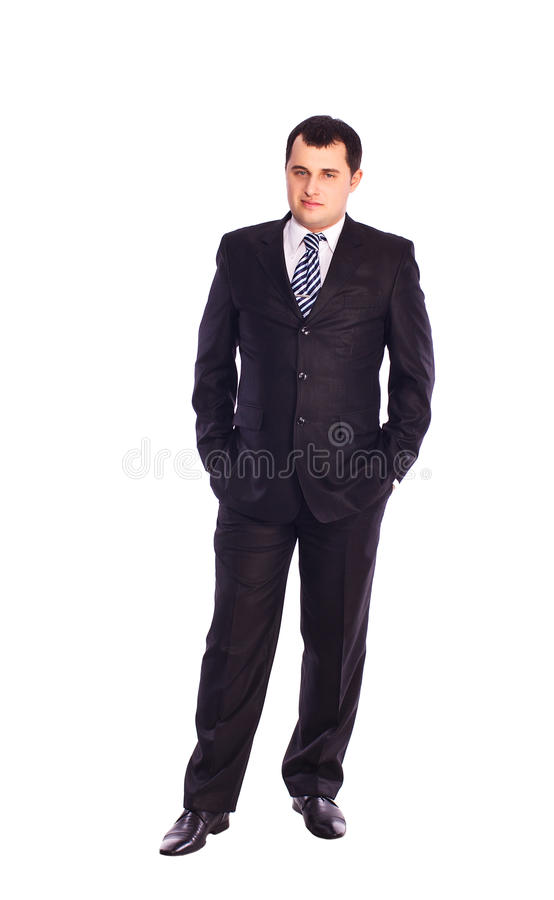 Download Full Length Portrait Of A Young Businessman Stock Image - Image: 23624403