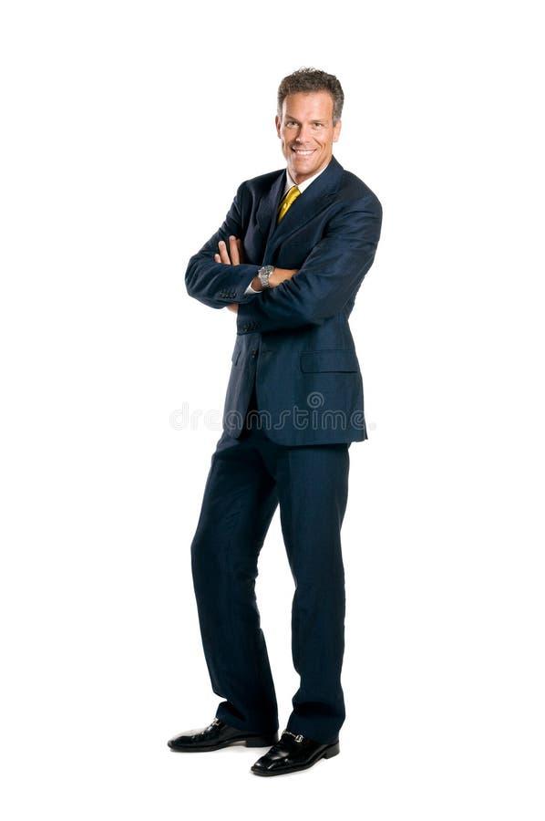 Download Full Length Smiling Businessman Stock Photo - Image: 9914938