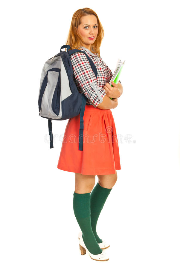 Download Full Length Of Student Woman Royalty Free Stock Photo - Image: 28542915