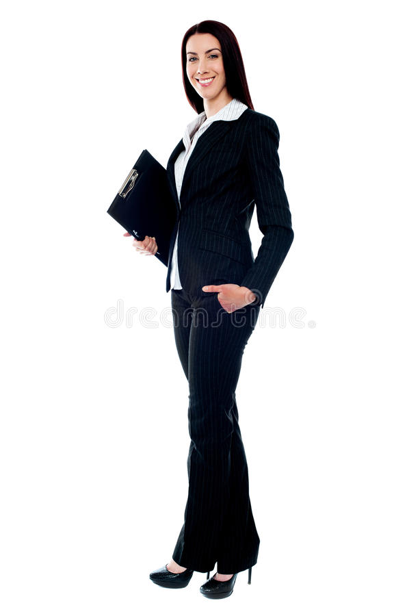 Download Full Length Of Young Businesswoman Stock Image - Image: 25160131