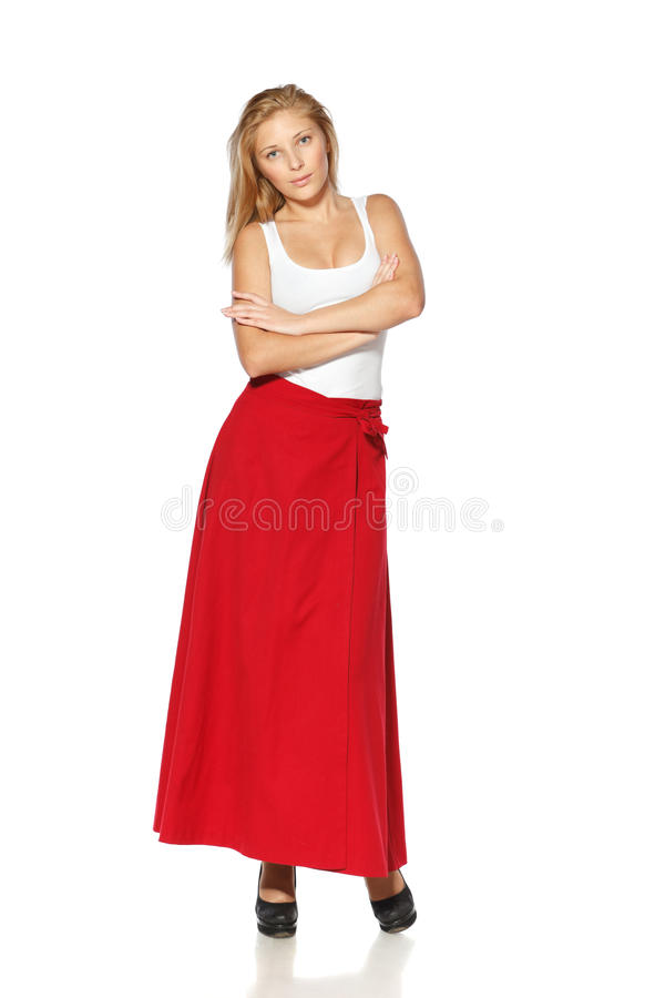 Download Full Length Of Young Female Royalty Free Stock Photo - Image: 23136995