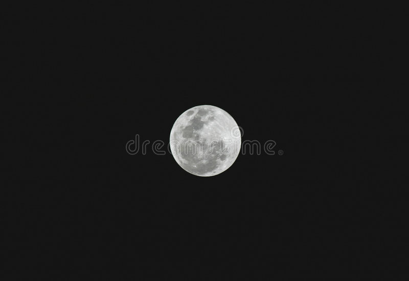 Download Full Moon stock image. Image of star, moon, night, lunar - 3903