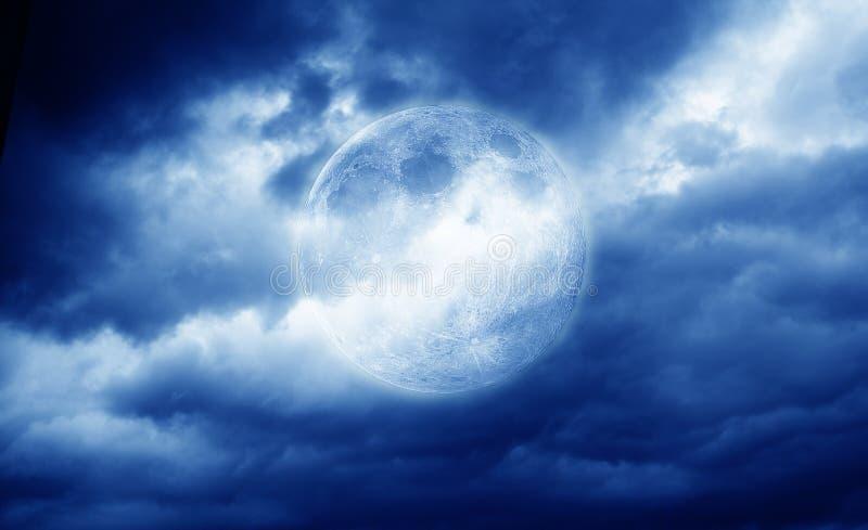 The full moon royalty free stock photo