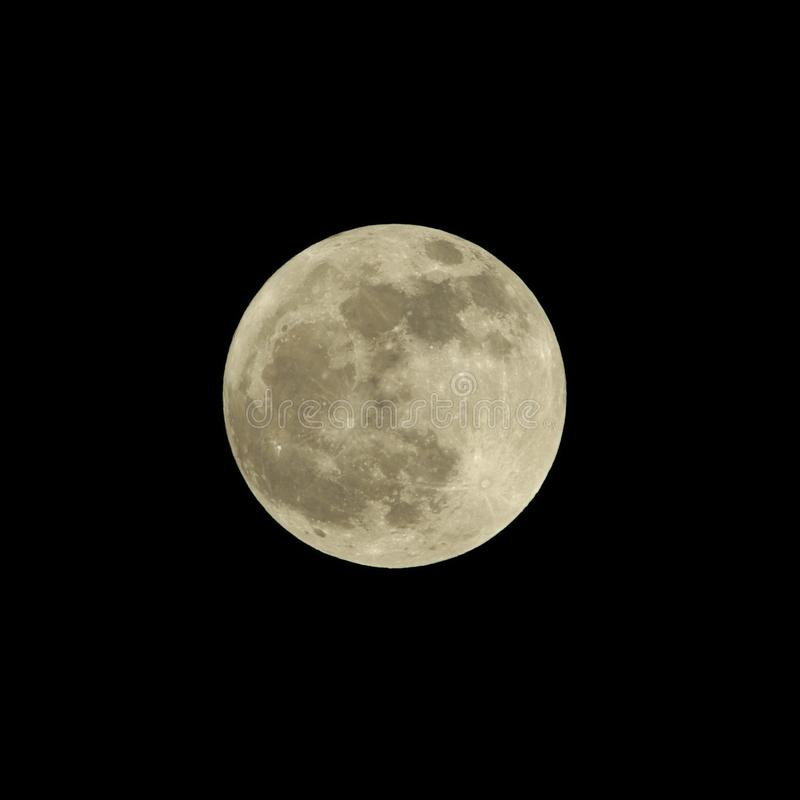 Download Full Moon stock image. Image of night, nighttime, full - 17914011
