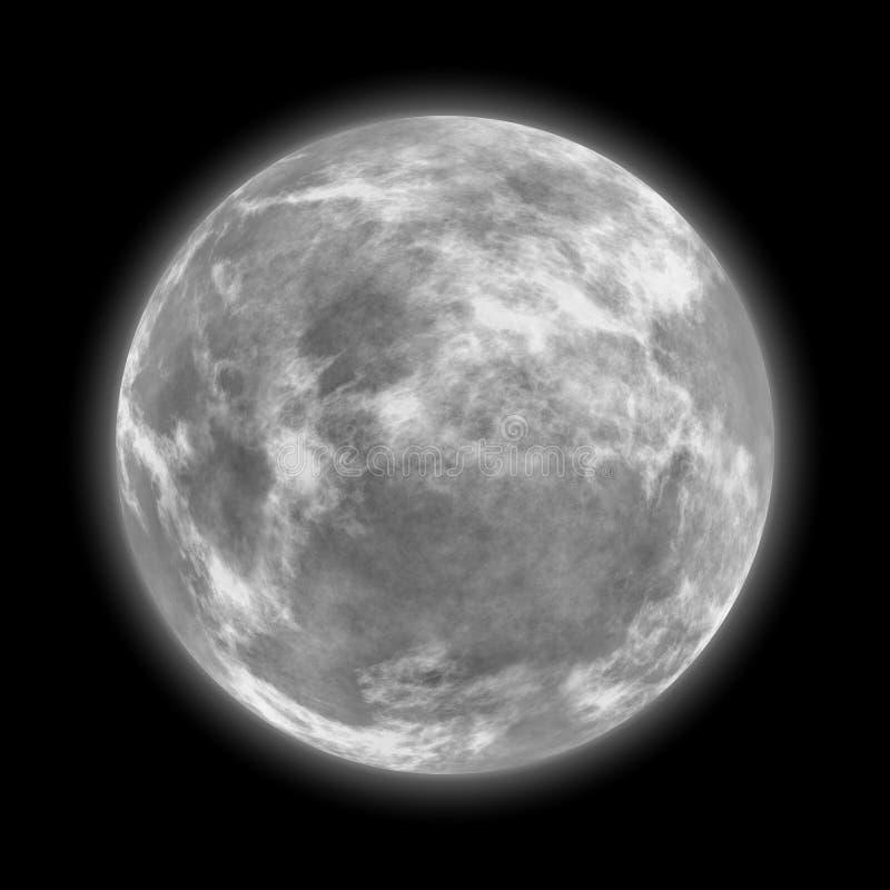 Download Full moon stock illustration. Illustration of impact - 19538429