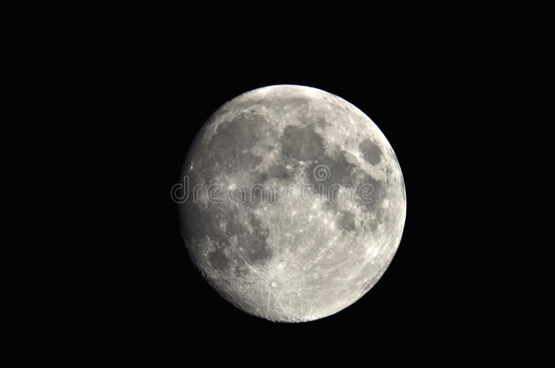 Download Full moon stock image. Image of cosmos, fullmoon, crater - 21663653
