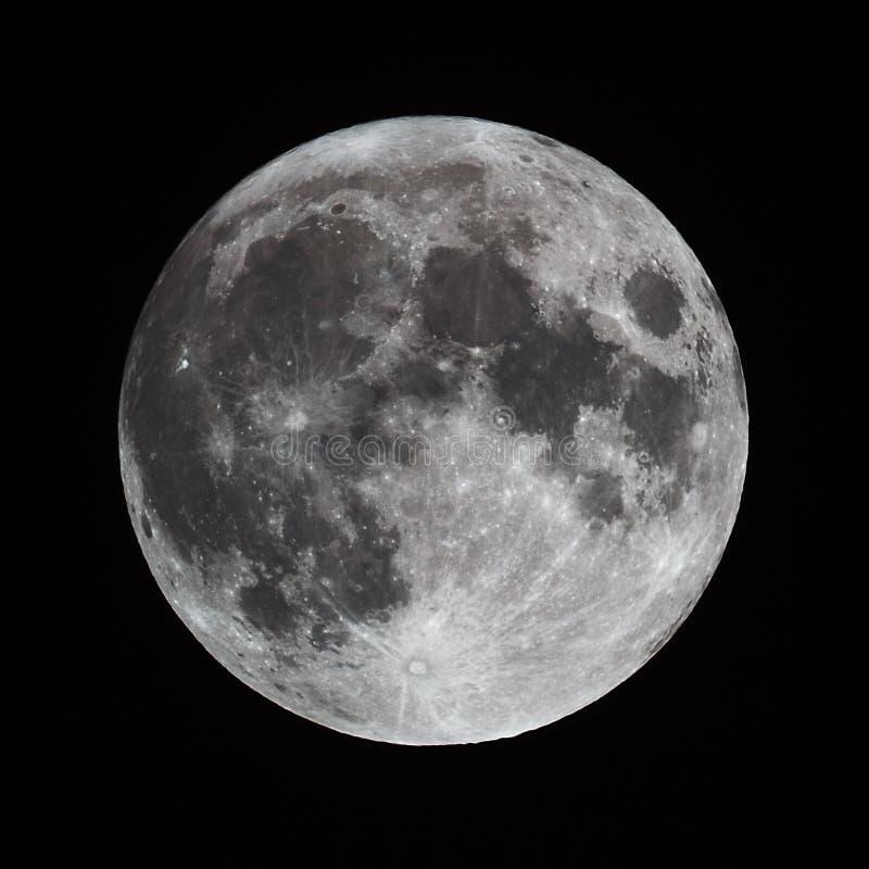 Free Full Moon Royalty Free Stock Photography - 56979217