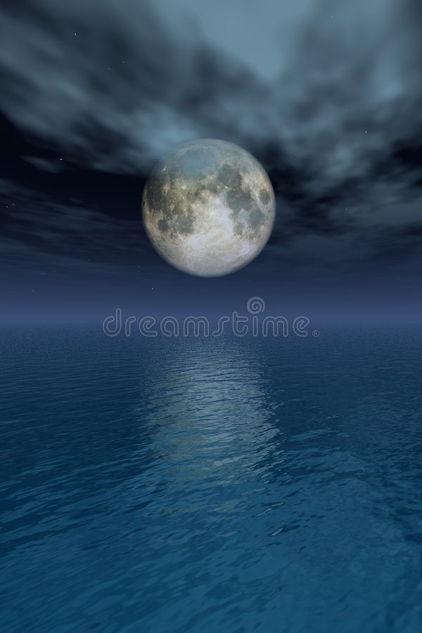 Full-moon royalty free stock images