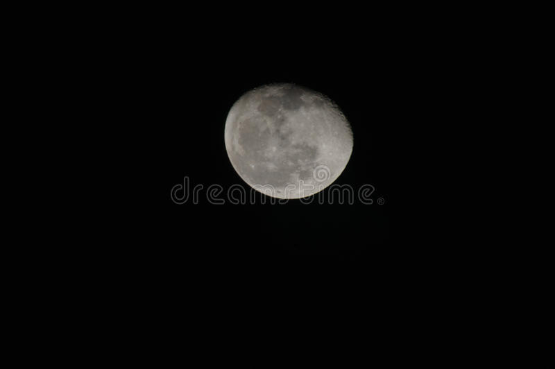 Download Full Moon Against Black Sky Stock Image - Image: 18870233