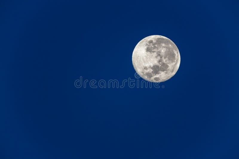 Download Full Moon Blue Sky stock photo. Image of full, solar - 28726130