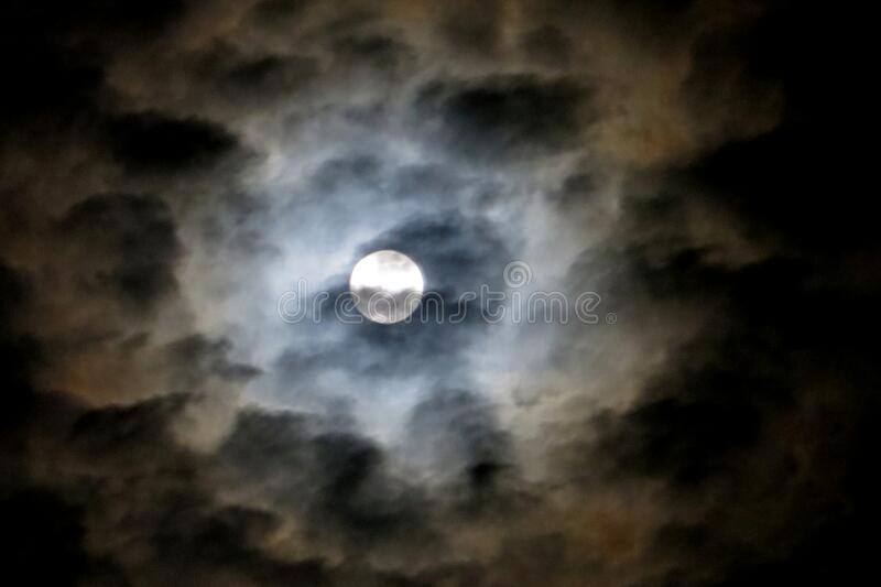 Full Moon In Cloudy Sky 3 Free Public Domain Cc0 Image