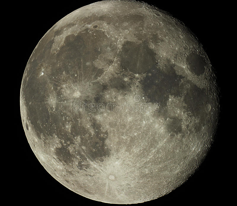 Full Moon. The Moon is Earths only natural satellite. It is one of the largest natural satellites in the Solar System, and, among planetary satellites, the stock images