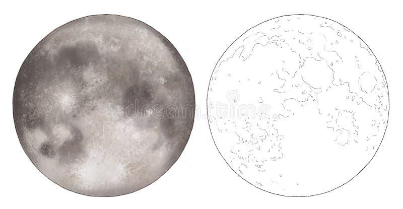 moon sketch stock illustrations 20 300 moon sketch stock illustrations vectors clipart dreamstime