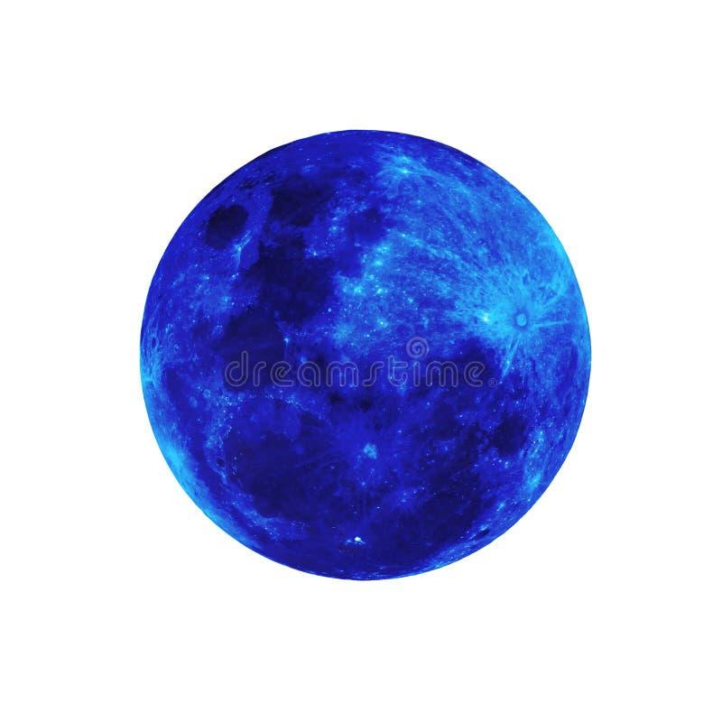 Full moon isolated. royalty free stock image