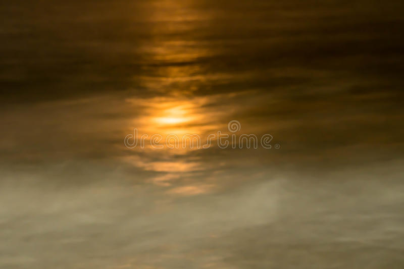 Full moon over the ocean stock images