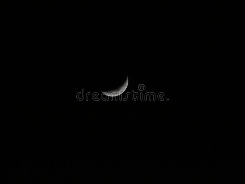 Moon in Pontevedra stock photography