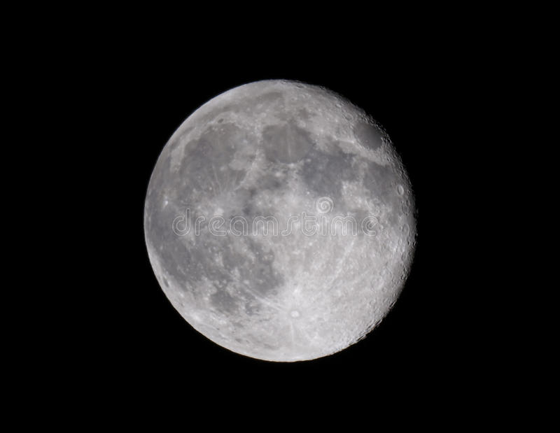 Download Full moon stock photo. Image of moon, full, quater, crater - 39076090