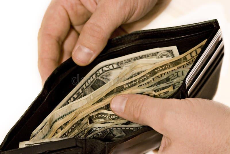 full plånbok royaltyfria bilder