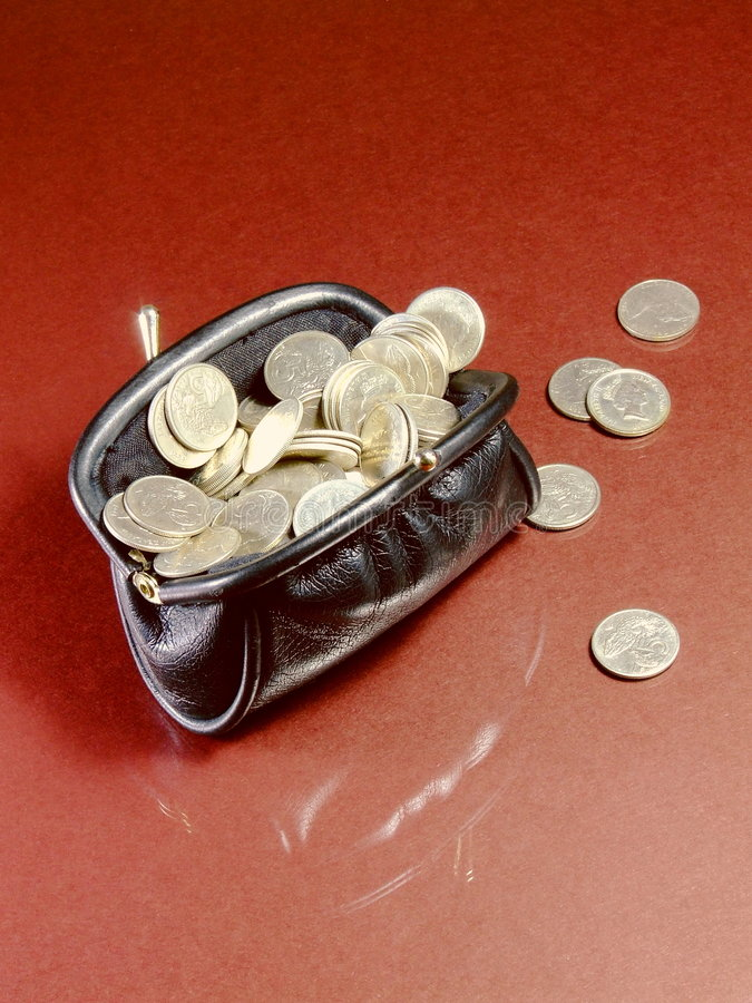 Download Full Purse stock photo. Image of funder, financing, invest - 6013100