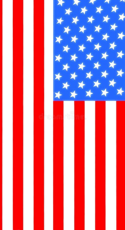 Download Full-ram Som Skjutas Av Amerikanska Flaggan Stock Illustrationer - Illustration av stjärna, landmark: 78730556