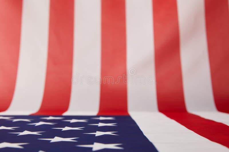 full rambild av den USA flaggan royaltyfria foton