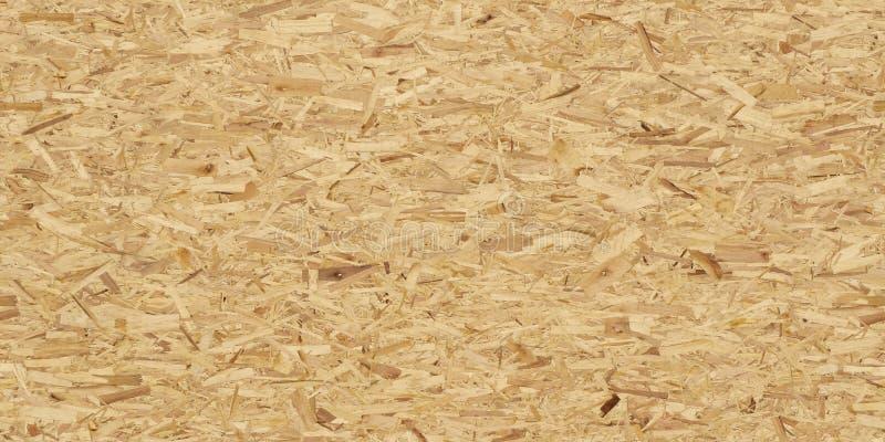 Full rambild av det orienterade trådbrädet OSB S?ml?s textur f?r h?g uppl?sning royaltyfri fotografi
