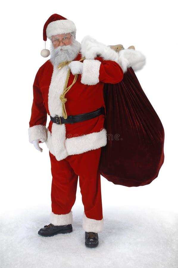Full Santa royalty free stock image