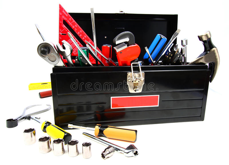 Full Toolbox stock photography