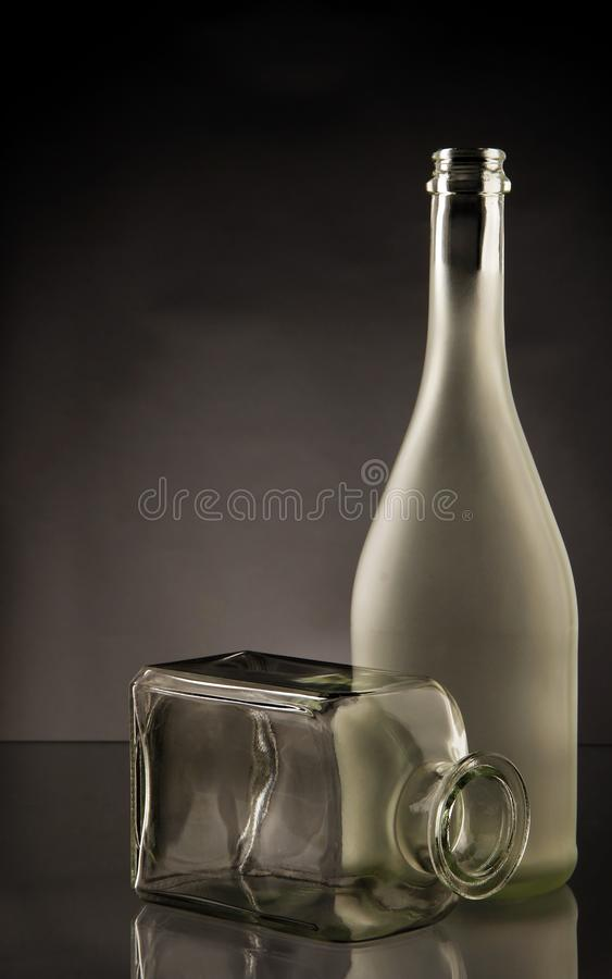 Full And Transparent Glass Bottles Free Public Domain Cc0 Image