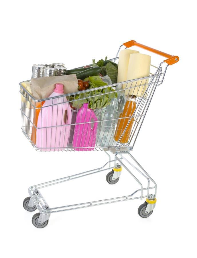 Full trolley stock image
