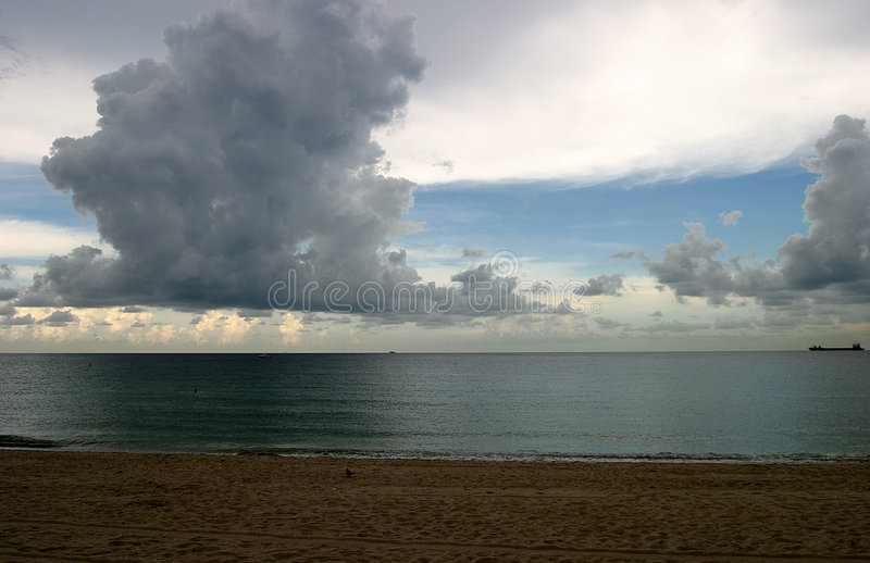 Download Full view stock photo. Image of storm, florida, waves, ocean - 33392