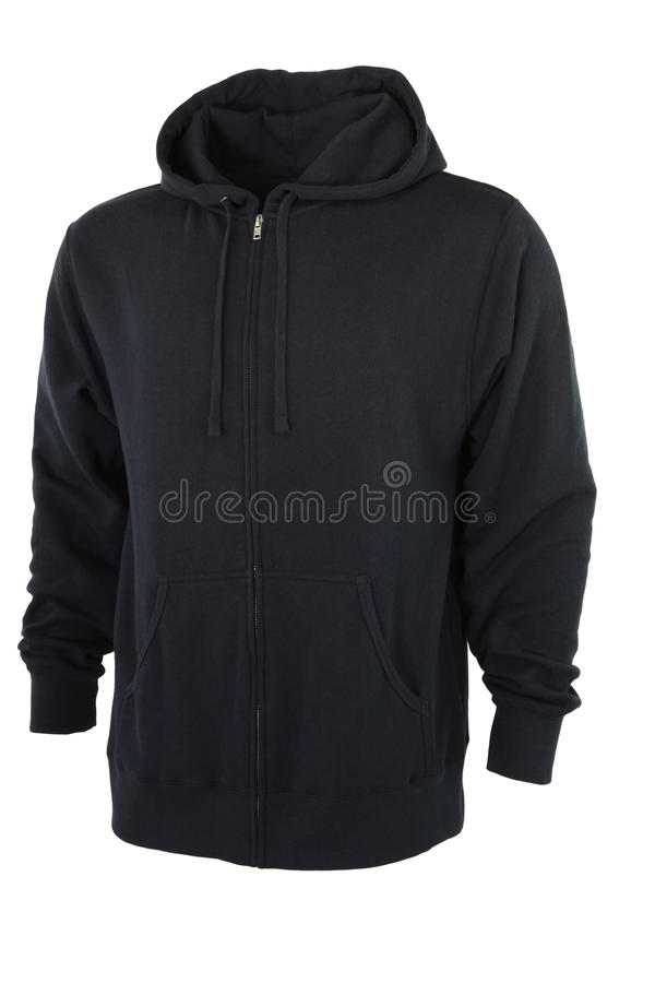 Full Zip Hoodie Front royalty free stock images