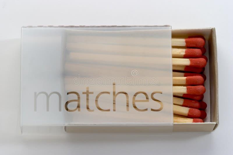 fulla matches för ask royaltyfri foto