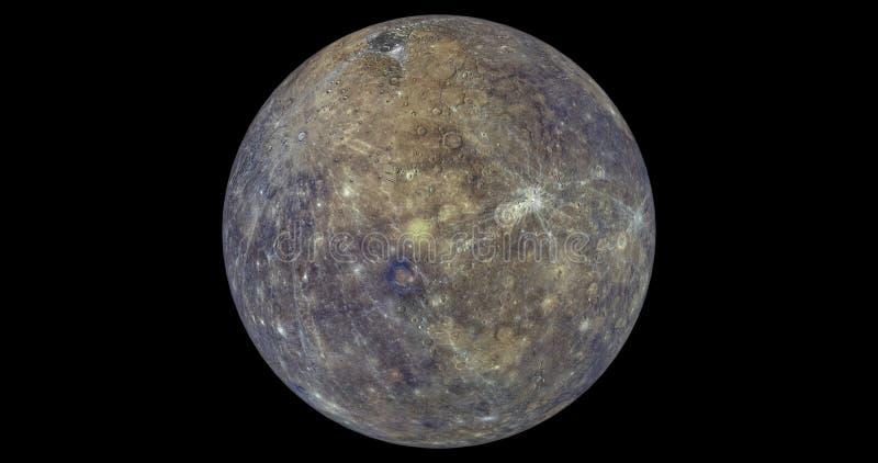 Fulla Mercury arkivbild