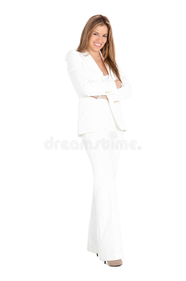 Download Fullbody business woman stock image. Image of hispanic - 15519619