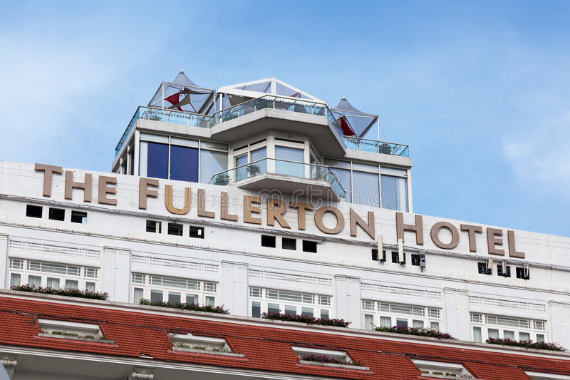 The Fullerton Hotel Editorial Photo