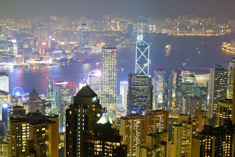 Fullsatt stad, Hong Kong