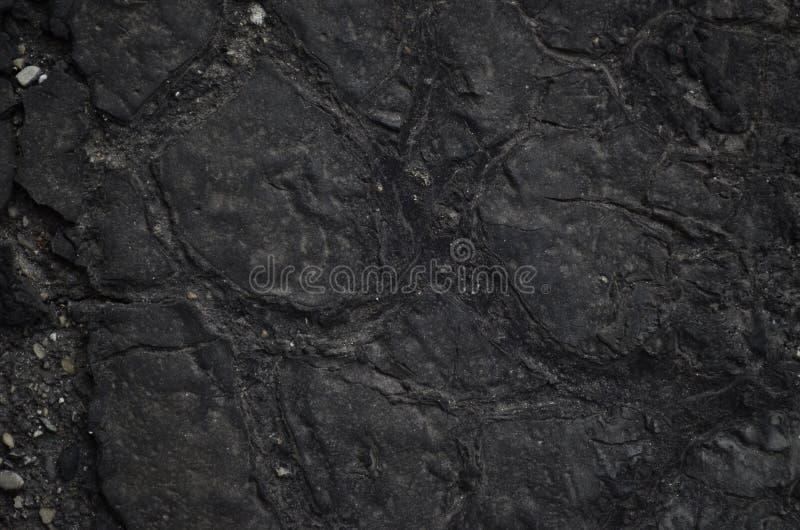 Fullständig svart kåda arkivfoton