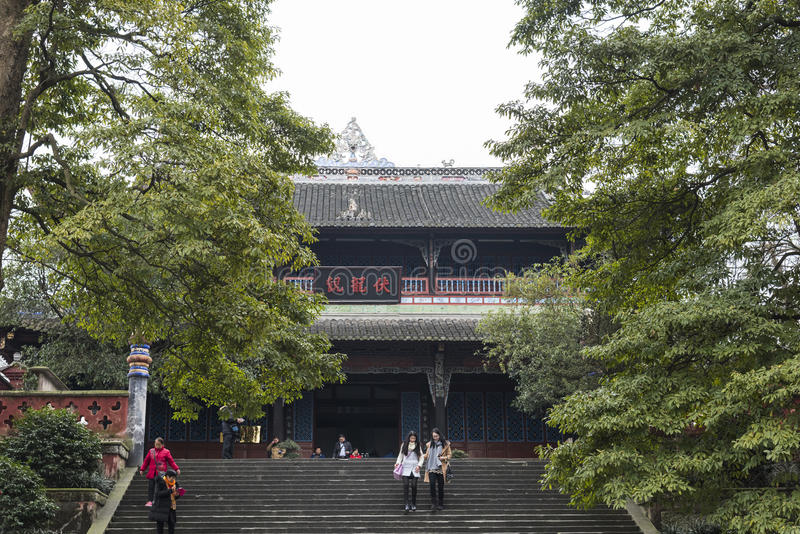 Fulong temple royalty free stock photography