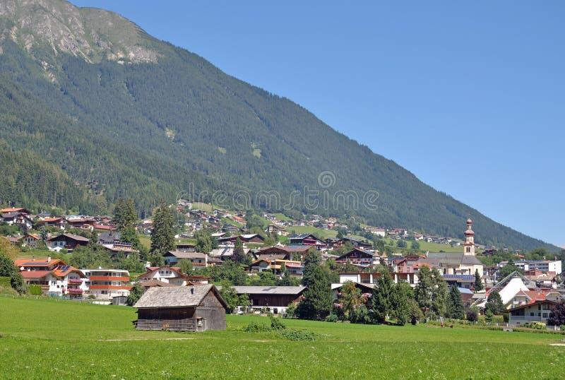 Fulpmes, Stubaital, Tirol, Österreich lizenzfreies stockbild