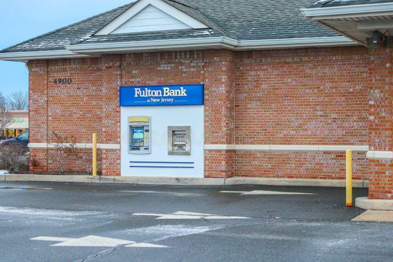 Fulton Bank de New-jersey imagem de stock
