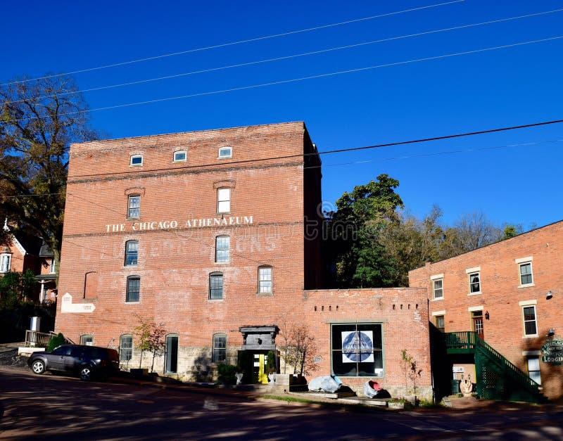Fulton Brewer Company Building imagem de stock