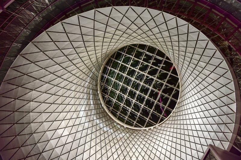 Fulton Center - Manhattan, New York imagens de stock
