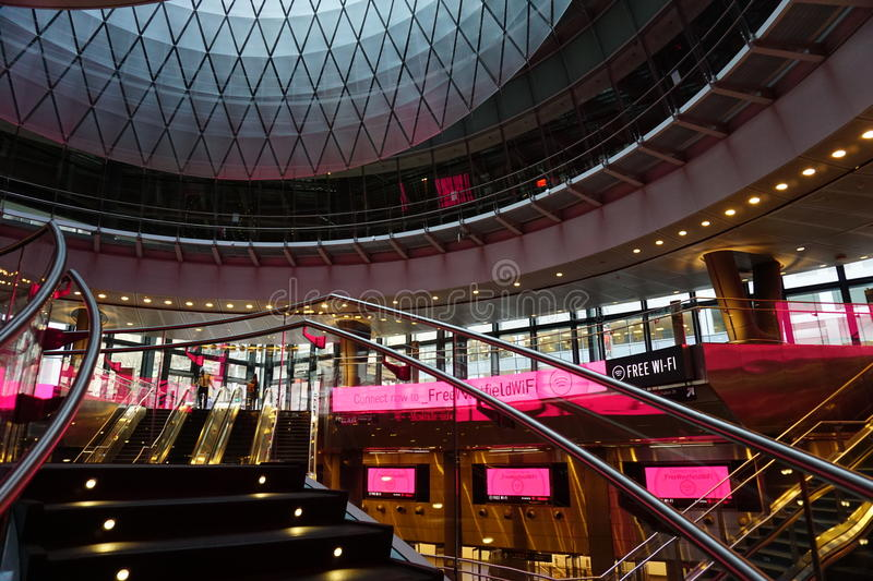 Fulton Center NYC 58. Designed by Grimshaw Architects in collaboration with Arup and worldrenowned designer James Carpenter, who is celebrated for his work with stock photos