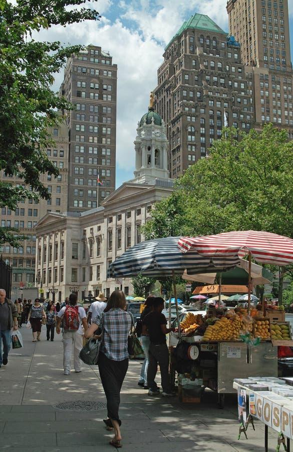 Fulton Mall Brooklyn New York City USA stock photos