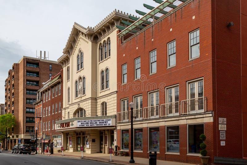 Fulton Opera House imagens de stock royalty free