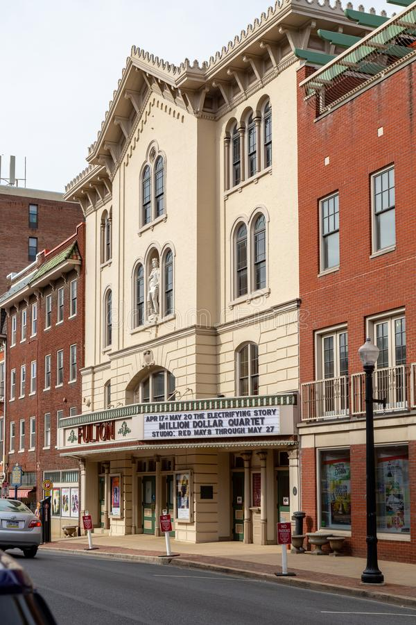 Fulton Opera House foto de stock royalty free