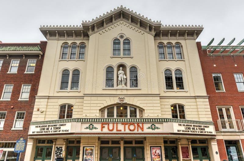 Fulton Opera House, Lancaster Pensilvânia imagens de stock royalty free